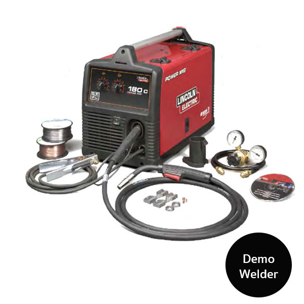 Lincoln Welders For Sale >> Lincoln Power Mig 180c With 1 Year Warranty