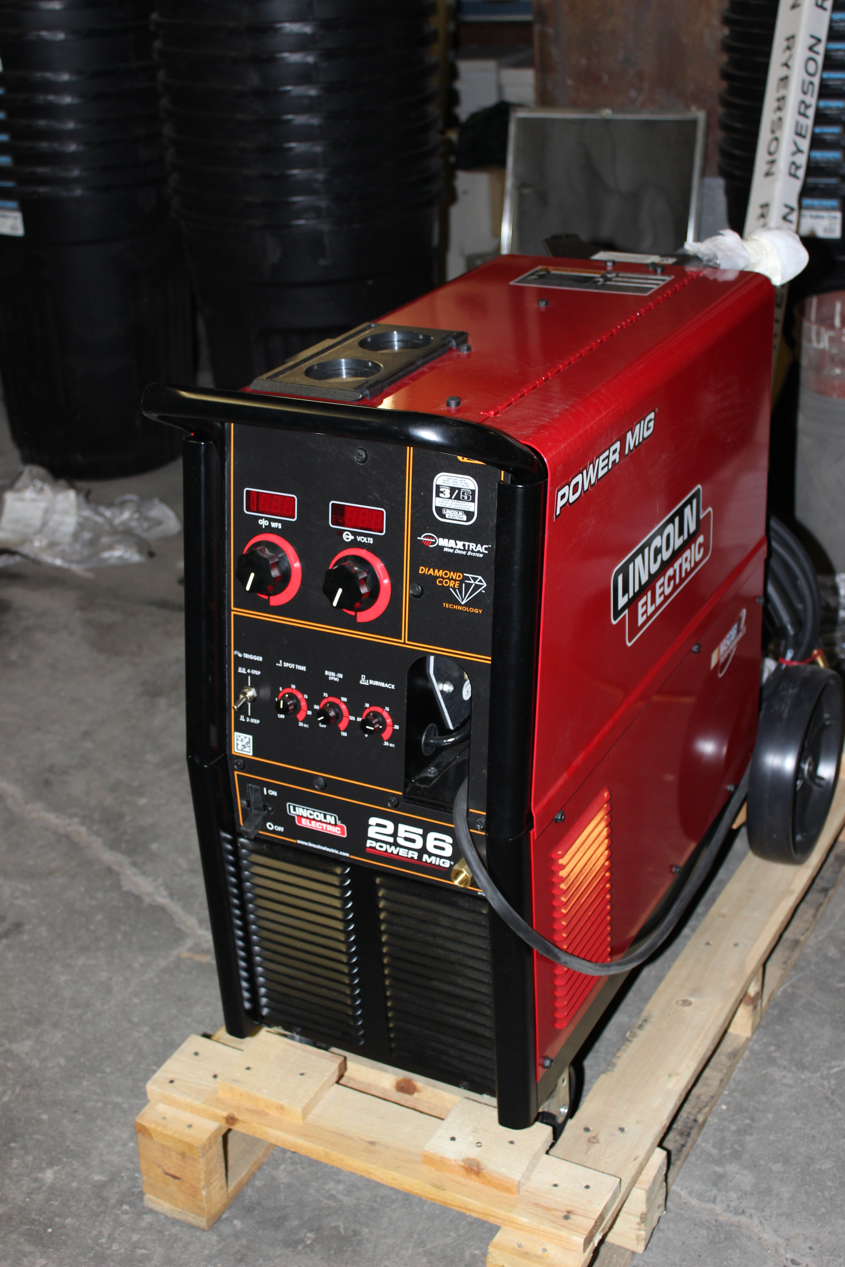 view welding lf used with mig welder electric cooled attachment dc lincoln idealarc machine water portfolio