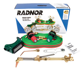 radnor cutting and welding heavy-duty kit